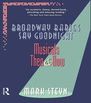 Broadway Babies Say Goodnight - 1st Edition book cover