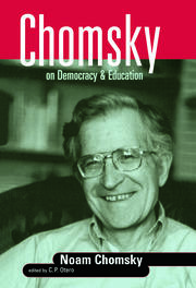 Chomsky on Democracy and Education book cover