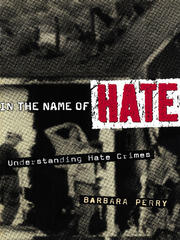 In the Name of Hate - 1st Edition book cover