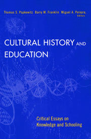 Cultural History and Education - 1st Edition book cover