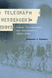 Telegraph Messenger Boys - 1st Edition book cover