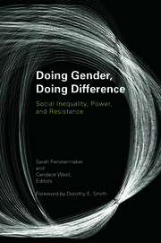 Doing Gender, Doing Difference - 1st Edition book cover