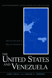 United States and Venezuela - 1st Edition book cover