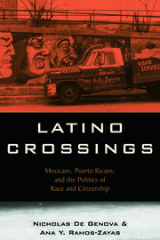 Latino Crossings - 1st Edition book cover