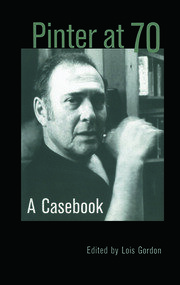 Pinter at 70 - 1st Edition book cover