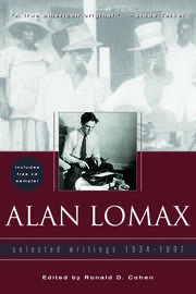 Alan Lomax - 1st Edition book cover