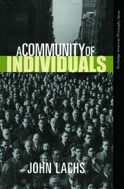 A Community of Individuals - 1st Edition book cover