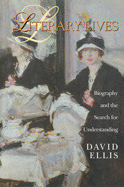 Literary Lives - 1st Edition book cover