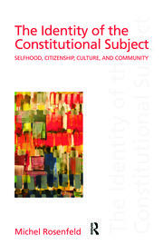 The Identity of the Constitutional Subject - 1st Edition book cover