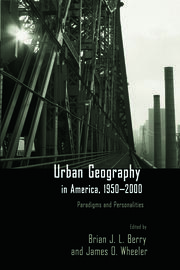 Urban Geography in America, 1950-2000 - 1st Edition book cover