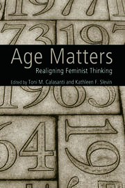 Age Matters - 1st Edition book cover