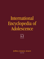 International Encyclopedia of Adolescence - 1st Edition book cover