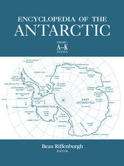 Encyclopedia of the Antarctic - 1st Edition book cover