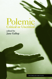 Polemic - 1st Edition book cover