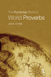 The Routledge Book of World Proverbs - 1st Edition book cover