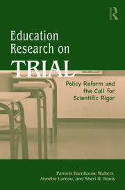 Education Research On Trial - 1st Edition book cover