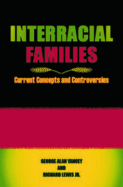 Interracial Families - 1st Edition book cover