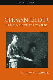 German Lieder in the Nineteenth Century - 2nd Edition book cover