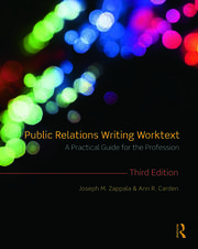 Public Relations Writing Worktext - 3rd Edition book cover