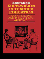 Supervision in Teacher Education - 1st Edition book cover