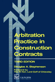 Arbitration Practice in Construction Contracts - 3rd Edition book cover