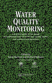 Water Quality Monitoring - 1st Edition book cover