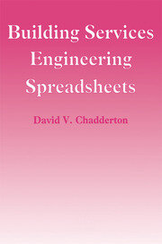 Building Services Engineering Spreadsheets - 1st Edition book cover