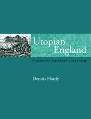 Utopian England - 1st Edition book cover