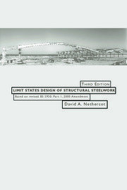Limit States Design of Structural Steelwork - 3rd Edition book cover