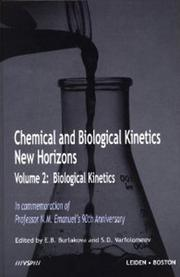 Biological Kinetics - 1st Edition book cover