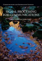 Signal Processing for Communications - 1st Edition book cover