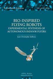 Bio-inspired Flying Robots - 1st Edition book cover