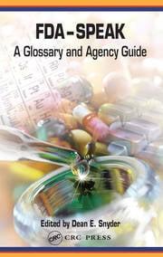 FDA-Speak - 1st Edition book cover