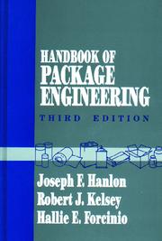 Handbook of Package Engineering - 3rd Edition book cover