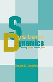 System Dynamics - 1st Edition book cover