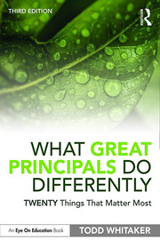 What Great Principals Do Differently -  3rd Edition book cover