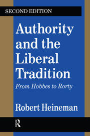 Authority and the Liberal Tradition - 2nd Edition book cover