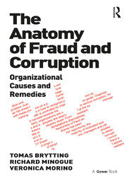 The Anatomy of Fraud and Corruption - 1st Edition book cover