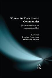 Women in Their Speech Communities - 1st Edition book cover