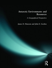 Antarctic Environments and Resources - 1st Edition book cover