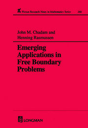 Emerging Applications in Free Boundary Problems
