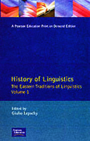History of Linguistics Volume I - 1st Edition book cover