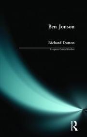 Ben Jonson - 1st Edition book cover