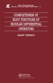 Completeness of Root Functions of Regular Differential Operators - 1st Edition book cover