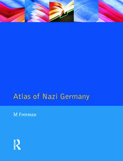 Atlas of Nazi Germany - 2nd Edition book cover