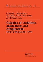 Calculus of Variations, Applications and Computations