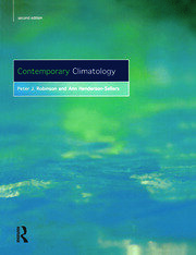 Contemporary Climatology - 2nd Edition book cover