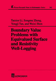 Boundary Value Problems with Equivalued Surface and Resistivity Well-Logging