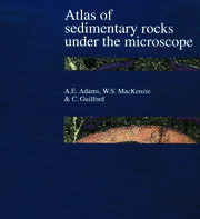 Atlas of Sedimentary Rocks Under the Microscope - 1st Edition book cover