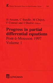 Progress in Partial Differential Equations: Pont-A-Mousson 1997, Volume 384